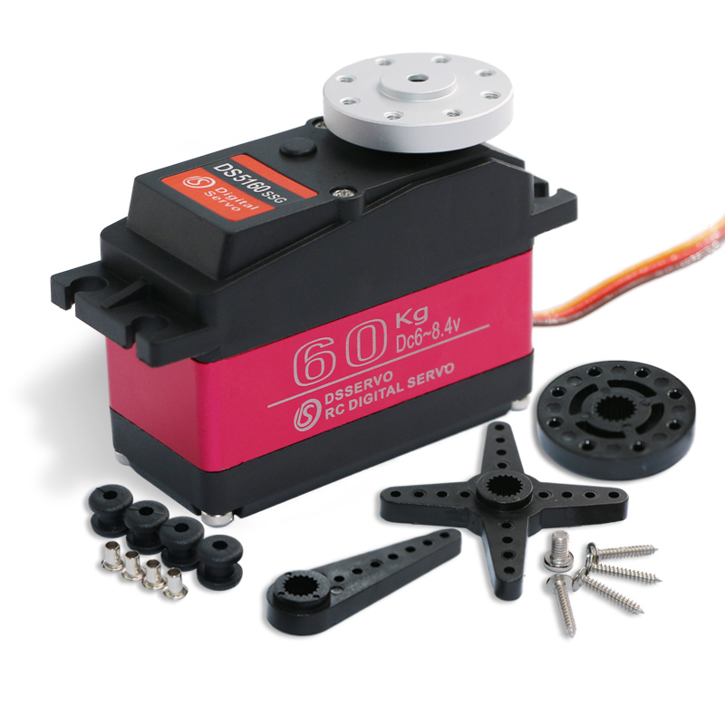 1 pcs servo 60kg high torque DS5160 baja servo Digital Servo for 1/5 Redcat HPI Baja 5B SS RC servo Car compatible SAVOX-0236