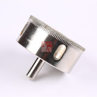 2pcs/set electric drill Accessories electroplating diamond hollow core bit hole saw for glass tile ceramic etc 60mm
