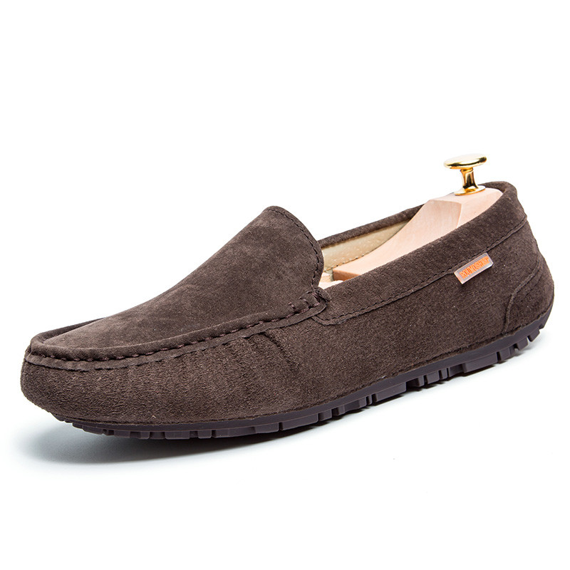Respirant Hommes Naturel Sur gray Slip Chaussures khaki Mocassins Daim En Blue green brown Casual IwtBrI