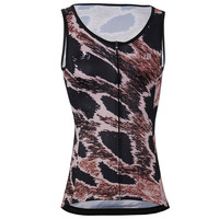 ZM High quality Women Sleeveless Riding Bike Cycling Vests Sunscreen Bike Wear Polyester Breathable Bike Bicycle Jersey Clothes