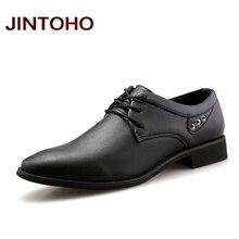 JINTOHO Mens Dress Italian Leather Shoes Male Designer Moccasins Black Flats  Glitter Men Flats Shoes Luxury Wedding Men Shoes fbbd3d575ee6