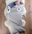 The new ins children sleeping bag shark baby sleeping baby baby supplies encapsulated