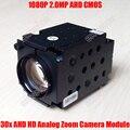 1080 p 2mp ahd cmos módulo de câmera com zoom óptico de 30x sony imx322 Auto Foco Coaxial Analógico HD CCTV PTZ de Alta Velocidade Dome Bloco câmera