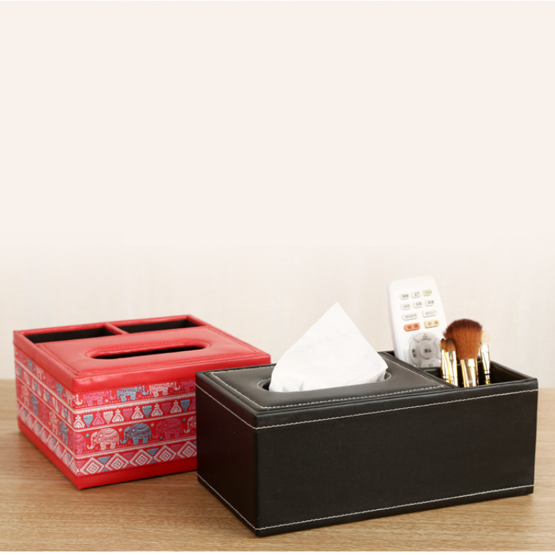 Image 5 - New Fashion Wooden Tissue Roll Paper Wooden Tissue Box Home Bathroom Car Tissue Box Container Vintage Style Storage Box-in Tissue Boxes from Home & Garden