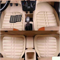 Universal car floor mats all models for toyota rav4 toyota camry 2006 2018 corolla 2007 2017 auris prius fortuner yaris styling