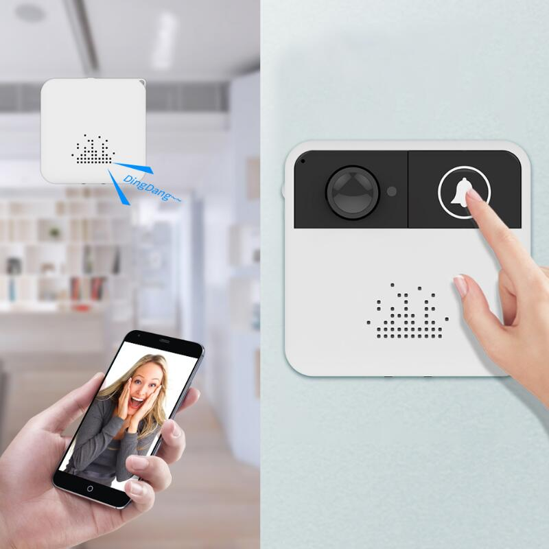 Smart Wireless WiFi Security Fine-quality DoorBell Smart Video Door Phone Visual Recording Mobile Phone Remote Camera MonitoringSmart Wireless WiFi Security Fine-quality DoorBell Smart Video Door Phone Visual Recording Mobile Phone Remote Camera Monitoring