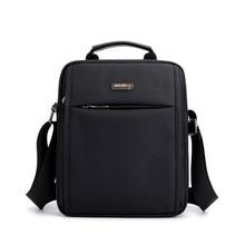 Men's Small Flap Shoulder Bag Waterproof Nylon Black Casual Travel Crossbody Bag For Men 2018 New Arrival Male Messenger Bags стоимость