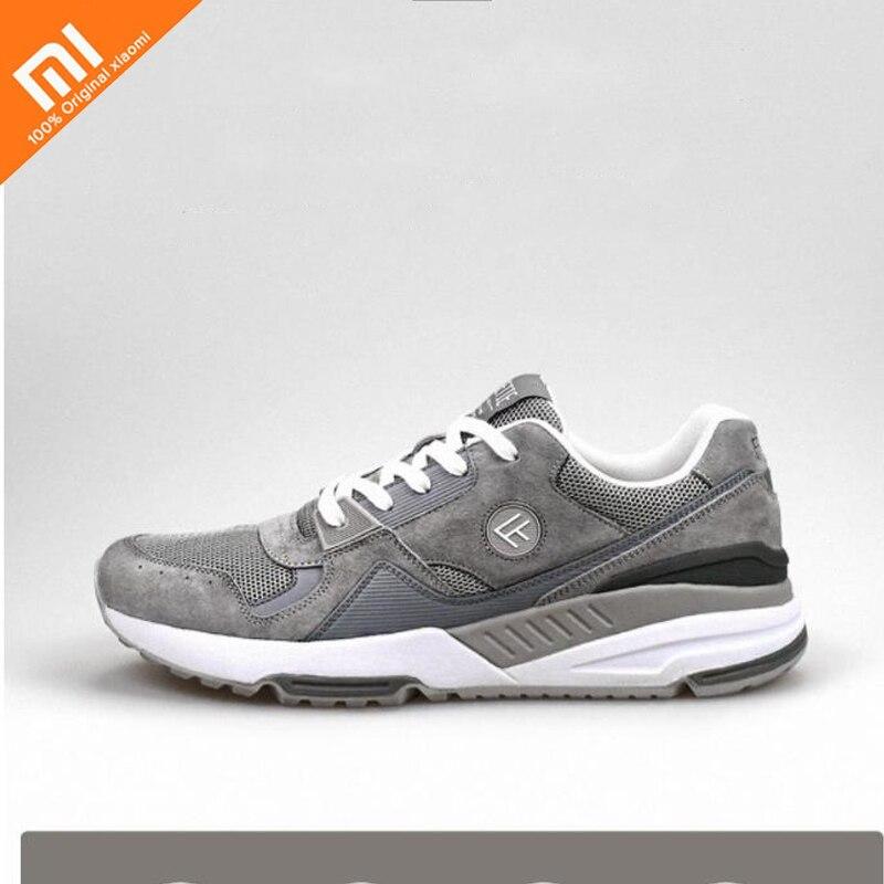 4 colors original xiaomi mijia FREETIE90 retro sports shoes breathable wear resistant shock men s sports