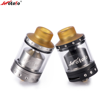 Original Wotofo The Viper RTA Tank Vape 24mm 3ml 510 Pin Thread Rebuildable 316 Stainless Steel 510 Pin Thread Vape Atomizer
