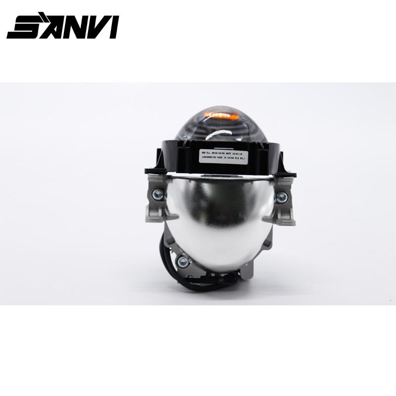 Universal LED Headlight H7 9006 H4 35W 40W 6000K High Low Beam Headlights Car-styling Bi LED Projector Lens Lamp