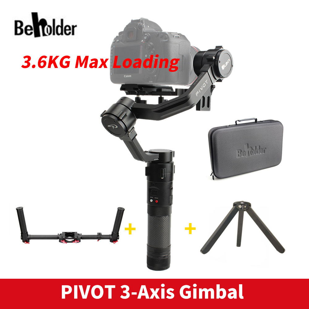 Beholder PIVOT 3-Axis Handheld Gimbal Camera Stabilizer for All DSLR Mirrorless Camera Canon 5D2/5D3/5D4 VS Zhiyun Crane 2 цена
