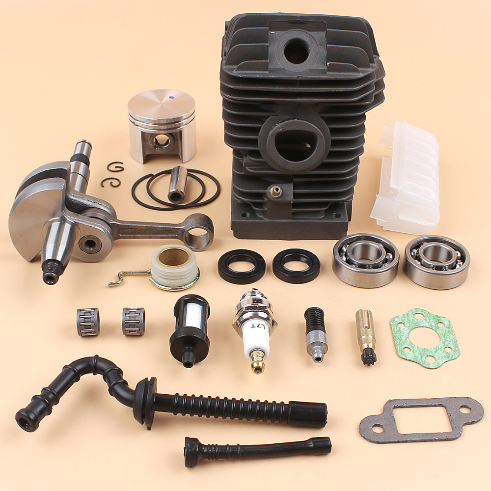 38mm Cylinder Piston Kits With Needle Bearing Oil Pump For Stihl Chainsaw Parts Diagram Free Engine Image Crankshaft Worm Gear Overhaul Kit Ms250 Ms230 025