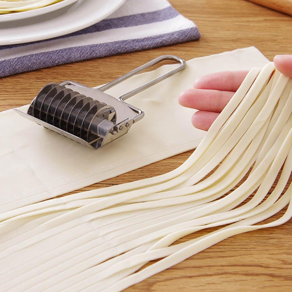 Stainless Steel DIY Manual Noodle Making Machine Pressing Pasta Machine Multifunction Rolling...