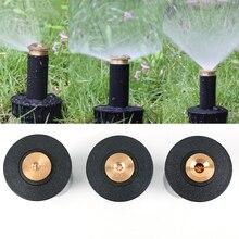 """1 шт. 90 360 градусов всплывающие спринклеры пластиковая лужайка спринклерная головка для полива Регулируемая садовая Распылительная насадка 1/2 """"Женская нить"""