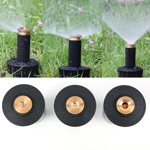 "Image 1 - 1PC 90 360 Degree Pop up Sprinklers Plastic Lawn Watering Sprinkler Head Adjustable Garden Spray Nozzle 1/2"" Female Thread"