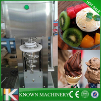 Бестселлер более низкий уровень шума конус из Нержавеющей Стали Замороженный Йогурт блендер виды фруктов мороженое делая машину Бесплатна