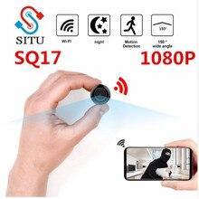 SQ17 4K WiFi мини-камера Спортивная HD DV ночная версия мини Экшн-камера с датчиком движения камера для тела цифровая камера видеокамера