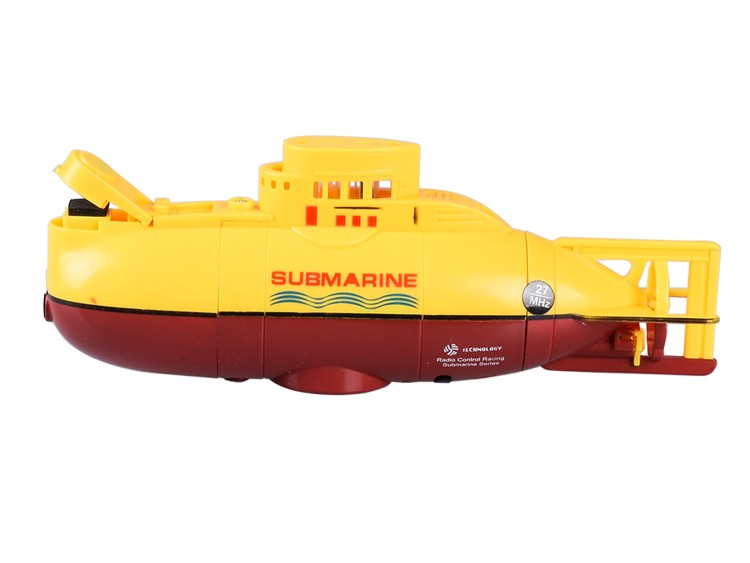 Hot Sale RC Submarine 6 Channel High Speed Radio Remote Control Electric Blue Yellow Kids Toy Boys Model Gifts