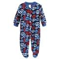 Marca Macacão de Bebê Pijama Roupa Do Bebê Recém-nascido Infantil Dos Desenhos Animados do Velo Longo Da Luva Macacões Roupa Morna do Inverno Da Menina do Menino Desgaste