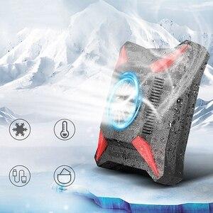 Image 4 - Soğutucu telefon Usb soğutma fanı oyun telefonu radyatör taşınabilir damla sıcaklık Usb kablosu
