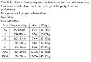 Image 5 - New Romantic Tutu Giselle Ballet Costumes Girls Child Velet Long Tulle Dress Skate Ballerina Dress Short Sleeve Lace Dress