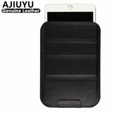 AJIUYU Genuine Leather Case For iPad Pro 12.9 inch Case Protective Smart Cover Tablet For 2015 Pro12.9 Protector Sleeve Cowhide