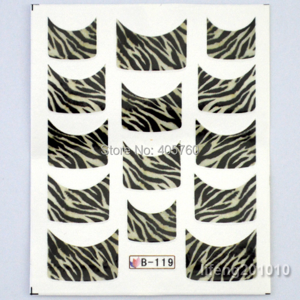 3 Sheets Lot Mix 3 Designs Leopard Tiger Water Transfer