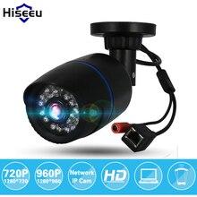 Hiseeu 720P/960P 1.0MP/1.3MP HD Network CCTV IP Camera Surveillance Camera H.264 P2P Remote Onvif 2.0 IR Security Bullet Camera