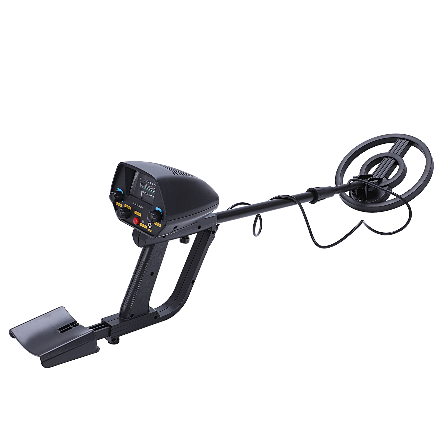 Professional Metal Detector Gold Treasure Portable Light weight Underground Metal Detector Searching Treasure MD4080 with shovel