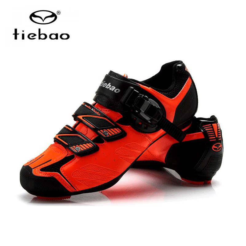 Купить с кэшбэком Tiebao road cycling shoes sapatilha ciclismo men Athletic bike sneakers superstar outdoor breathable riding racing bicycle shoes