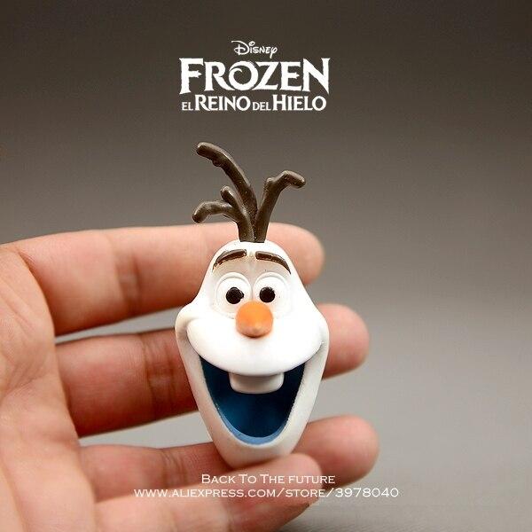 Toys & Hobbies Disney Frozen Snowman Olaf 4cm Mini Action Figure Posture Anime Decoration Collection Figurine Toy Model For Children Gift