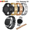 Watchband For Samsung Gears S3 Watch Band 22mm Stainless Steel Metal Replacement Smart Watch Strap Bracelet