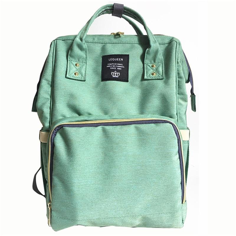 HTB104iXeqQoBKNjSZJnq6yw9VXa8 23 Colors Fashion Mummy Maternity Nappy Bag Large Capacity Baby Diaper Bag Travel Backpack Designer Nursing Bag for Baby Care