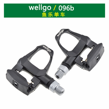Free shipping wellgo superlight weight Magnesium body Titanium SPD clipless road bike pedal MTB bike parts bicycle accessories