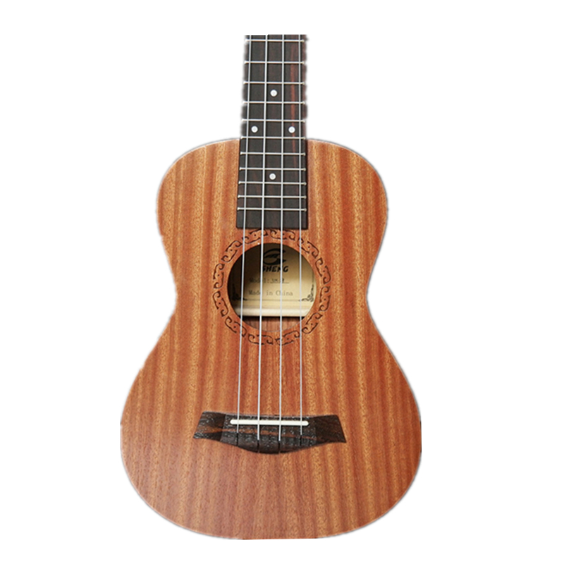 Afanti Music 23 inch small Guitar / Sapele / 23 inch Ukulele (DGA-127) 12mm waterproof soprano concert ukulele bag case backpack 23 24 26 inch ukelele beige mini guitar accessories gig pu leather