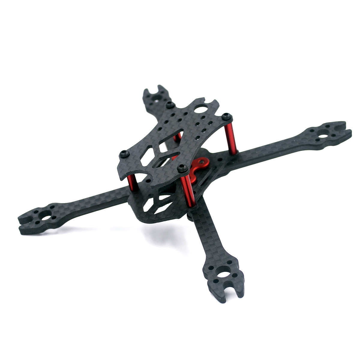 VX110 110mm 2.5inch Wheelbase 3mm Arm Micro Indoor Fpv Racing Frame Support 1104 <font><b>1106</b></font> <font><b>Motor</b></font> 2535 2435 2030 Propeller image