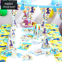 One Year S Old Birthday Party Decoration Party Supplies Set