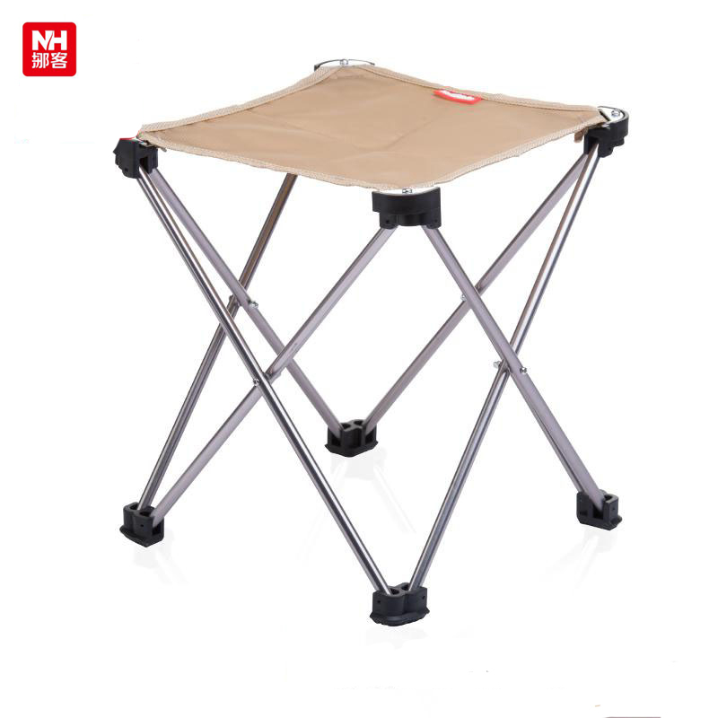 NH15D012 B Outdoor Ultralight Foldable Portable Stool Fishing Chair Picnic  Barbecue Beach Chair Aluminium Alloy + Oxford Fabric In Fishing Chairs From  ...