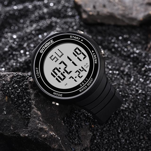Gorący mężczyźni zegarki cyfrowy LED zegarki sportowe zegarki mężczyzna zegar luksusowe życie wodoodporny zegarek męski relogio masculino reloj cyfrowy hombre