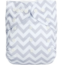 (10 pieces/lot) ALVA One Size Fits All Pocket Baby Nappy with Microfiber Insert