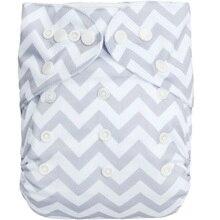 (10 unids/lote) ALVA tamaño único se adapta a todos los pañales de bebé de bolsillo con inserción de microfibra