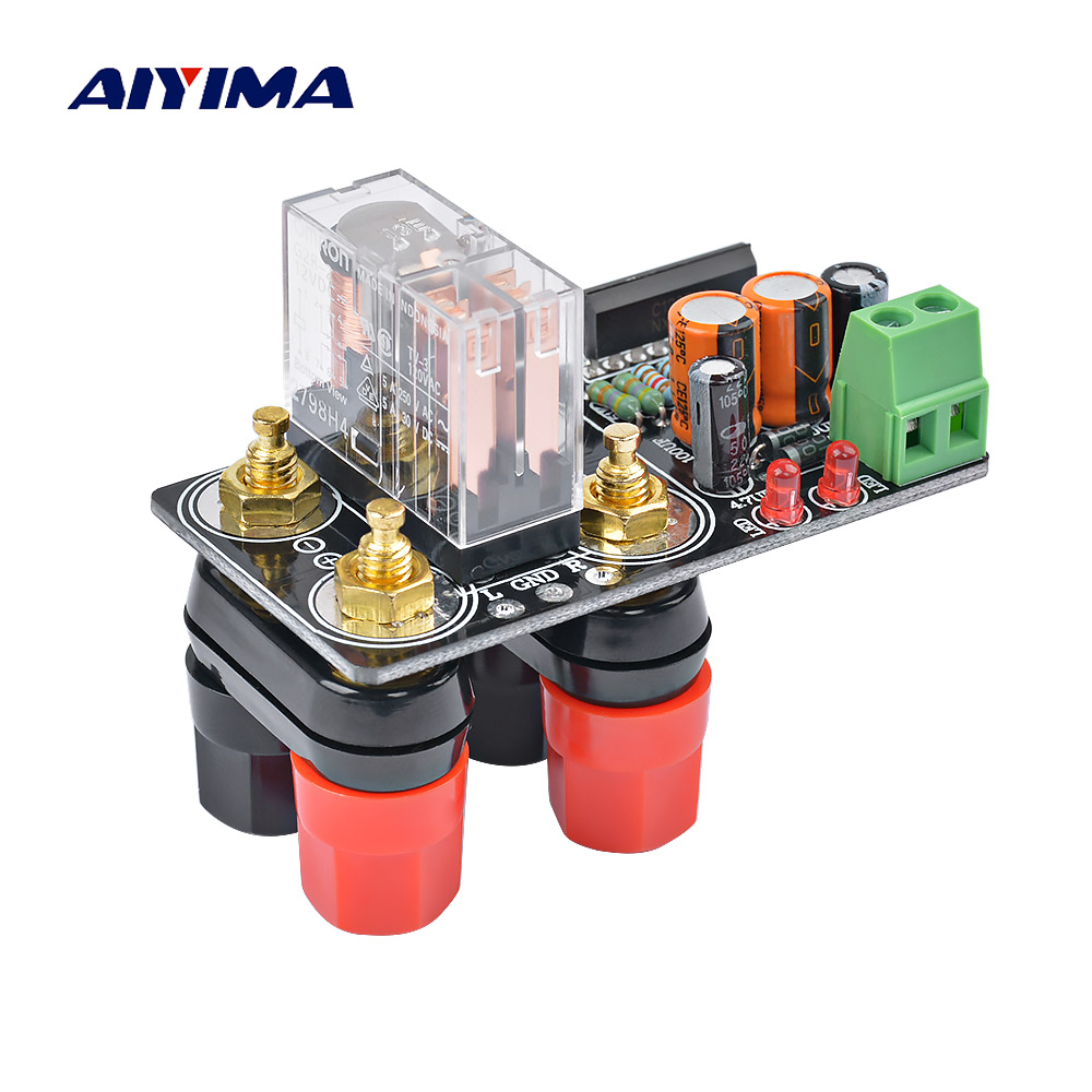 AIYIMA UPC1237 Speaker Protection Board Montado diretamente sobre o Chassis AC12-24V Desempenho Confiável para Amplificador Hifi DIY