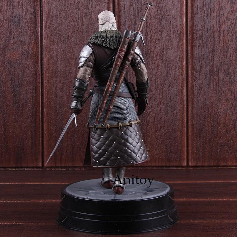 """Dark Horse Geralt Gran Maestro Feline 8.5/"""" Statua STREGHE 3 Caccia Selvaggia in magazzino"""