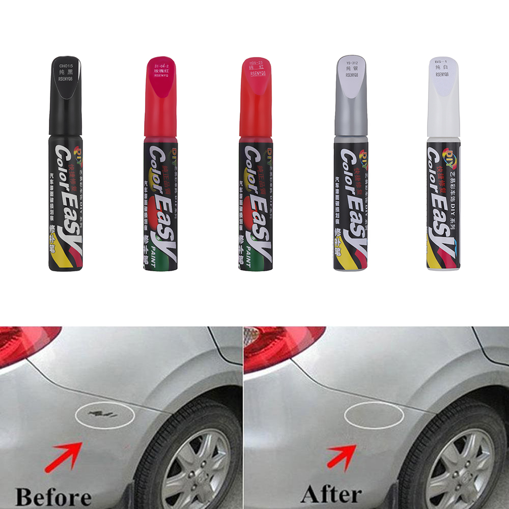 2018 Touch Up Pens Car Auto Scratch Repair Remover Paint Pen Clear Coat  Pro Hot Consumer Electronics Vehicle Electronics & GPS