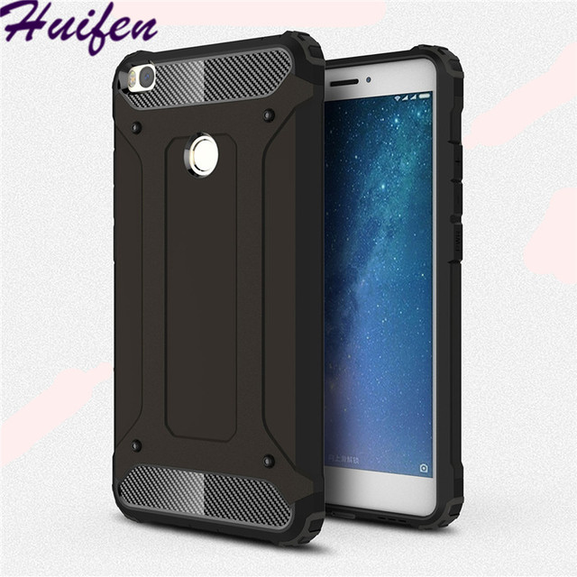 half off 0ff75 a2f90 US $3.7 |For Xiaomi Mi Max 2 Case 6 5S Plus Hard Rugged Case Hybrid Armor  Phone Case Protect Hybrid Cover For Mi Max 3 Mix 2S 5C (XX1221)-in Fitted  ...