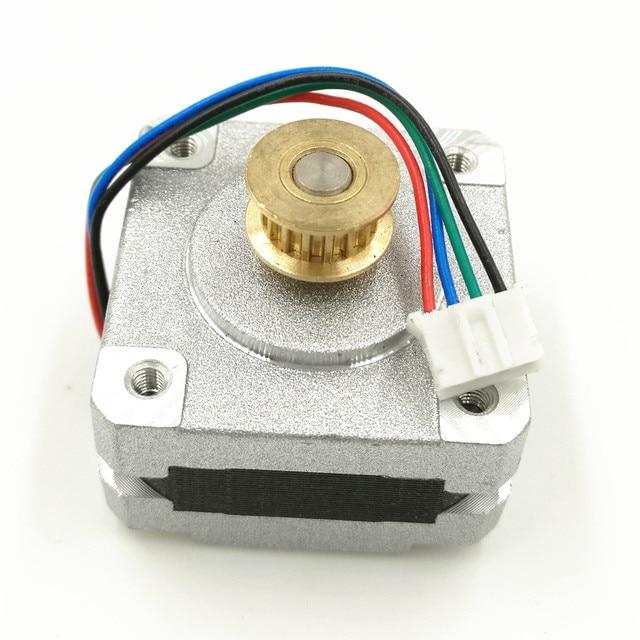 2 Phase 4 Draht Schrittmotor 0,9 grad 20mm 3d drucker Schrittmotor ...