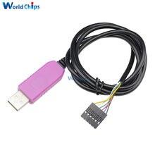 6Pin PL2303HXD USB RS232 TTL seri kablo modülü kazanmak için XP VISTA 7 8 için Android OTG PL2303 HXD