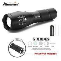 AloneFire G700 N XM L T6 3800LM Aluminum Waterproof Zoomable Led Flashlight Matnet Flashlight 18650 Battery