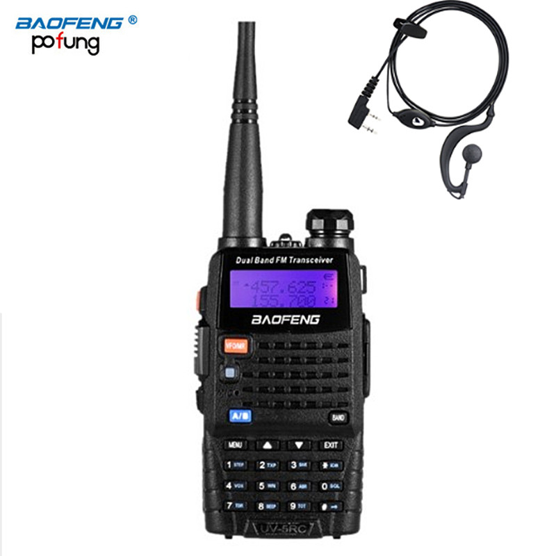 Baofeng UV 5RC Walkie Talkie Ham 2 Two Way VHF UHF CB Radio Station Transceiver Boafeng Amador Scanner Portable Handy Woki Toki-in Walkie Talkie from Cellphones & Telecommunications
