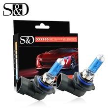 Halogen-Bulb Car-Headlight-Lamp Fog-Lights 5000K Hb4 55w White Super-Bright 9006 12V